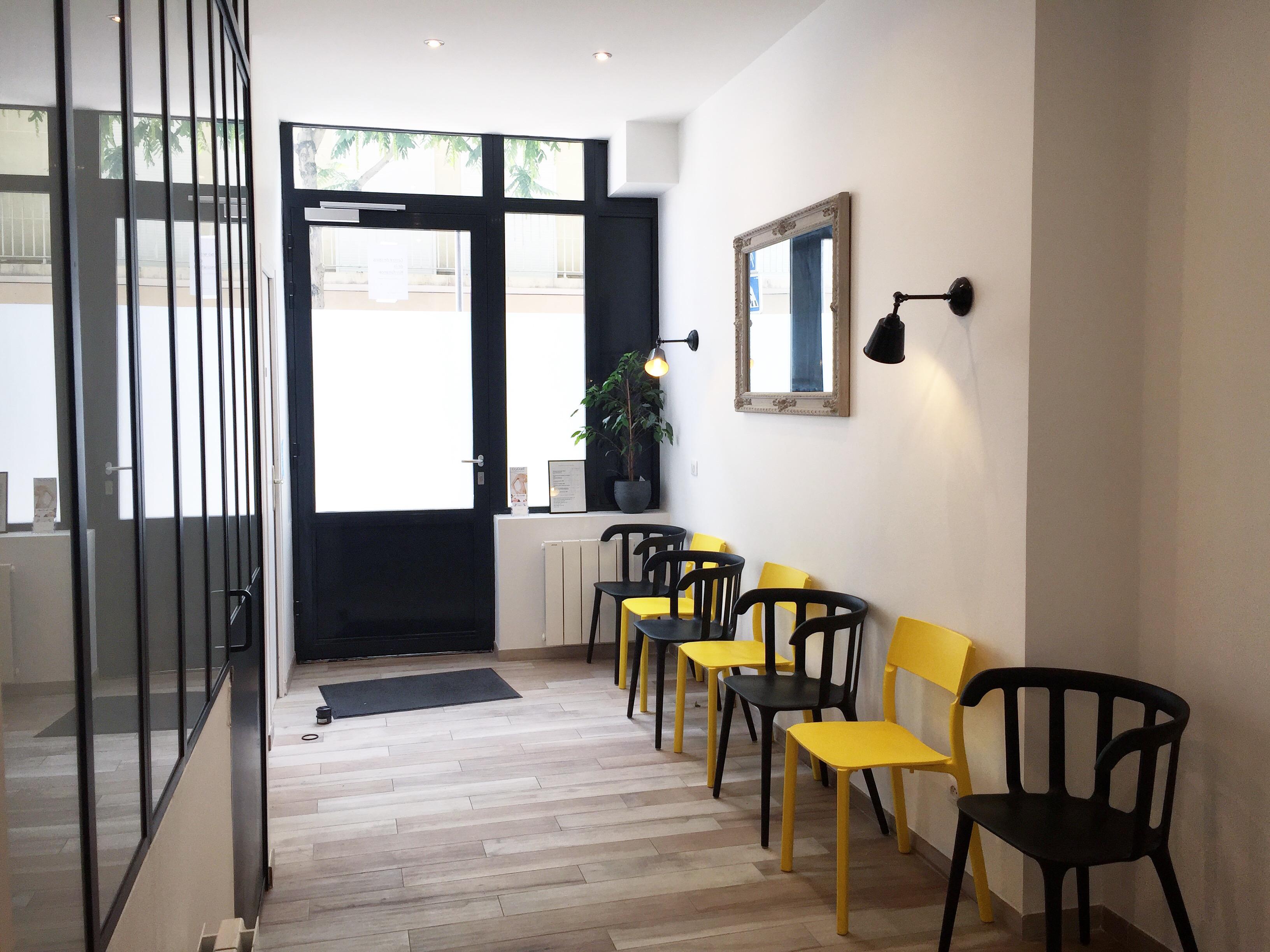 Cabinet d'hypnose - Elsa Couteiller - Vincennes - salle d'attente - elsacouteiller.com