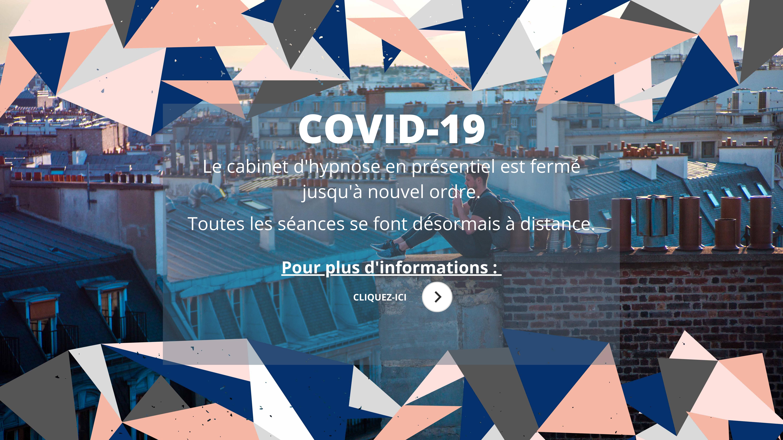 Bannière page d'accueil site Internet Elsa Couteiller - hypnologue - hypnose ericksonienne - Covid 19