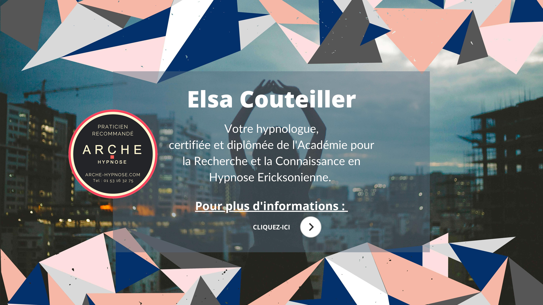 Elsa Couteiller - hypnologue - praticienne en hypnose ericksonienne - saint-mandé - ARCHE