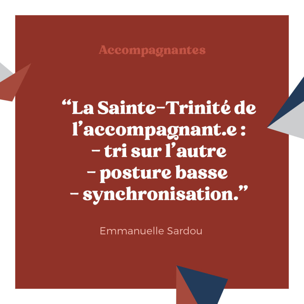 Citation Emmanuelle Sardou - podcast Accompagnantes - hypnose